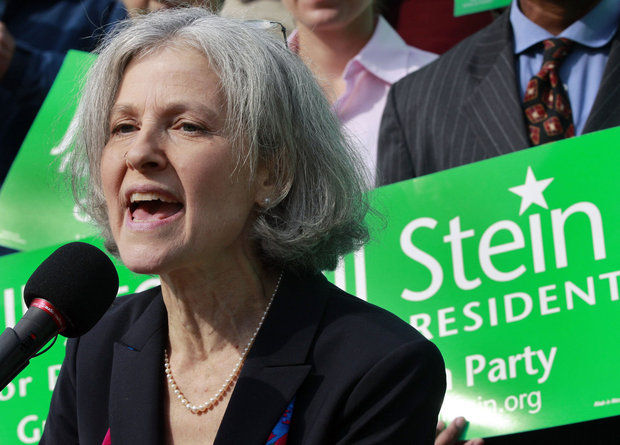 Dr. Jill Stein, the Green Party