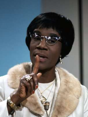 Shirley Chisholm on BBC in 1970