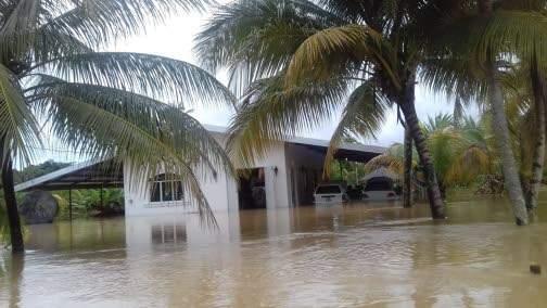 Trinidad heavy rains & devastating flood