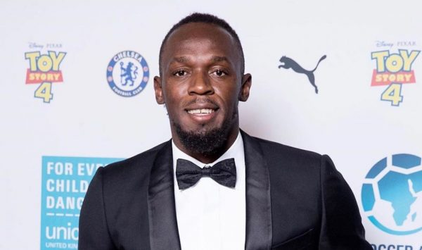 """Usain Bolt Makes Dancehall Debut With """"Olympe Rosé Riddim"""""""