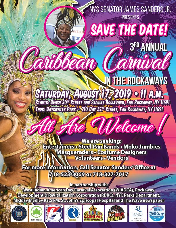 3rd Annual Caribbean Carnival in the Rockaways