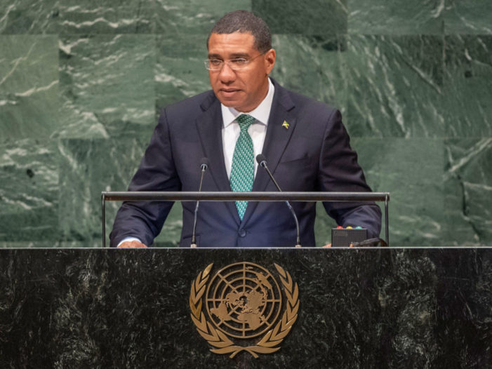 Jamaica calls for partnership approach to financing impact of climate change