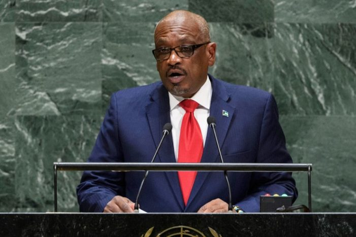 Treat Climate Crisis with 'Greatest Urgency', Bahamas PM Tells UN Assembly