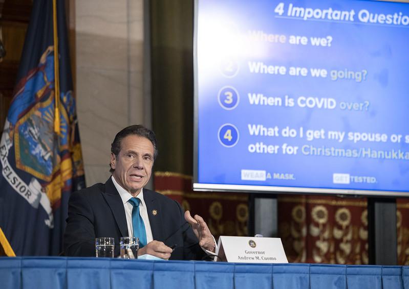 Governor Cuomo Announces COVID-19 vaccine